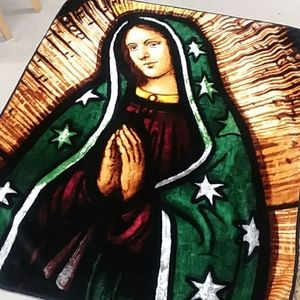 Other - Super Soft Blessed Mary Throw Blanket